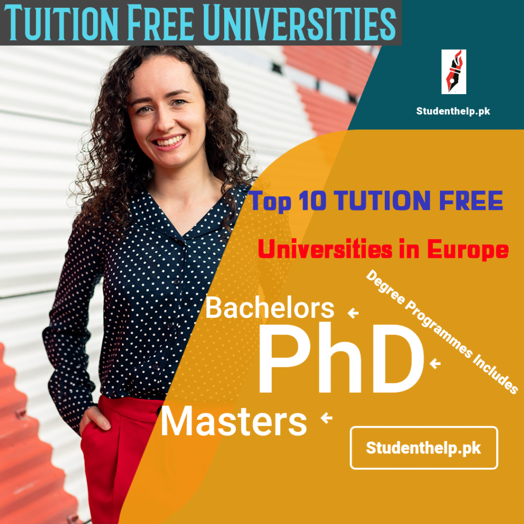 op 10 Tuition Free Universities In Europe for International Students 2022