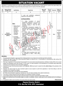 Election Commission of Pakistan Islamabad Jobs 2021