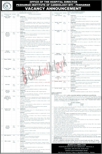 Director Jobs 2021 at Peshawar Institute of Cardiology